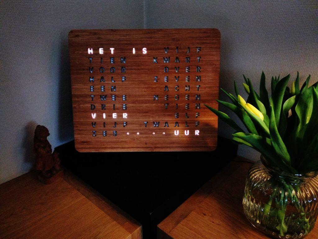Bamboe woordklok